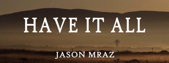 Jason Mraz ¡Lo hizo de nuevo!