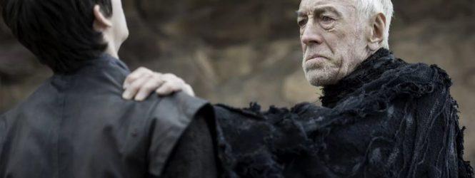 Murió Max Von Sydow, el Cuervo de Tres Ojos en Game of Thrones