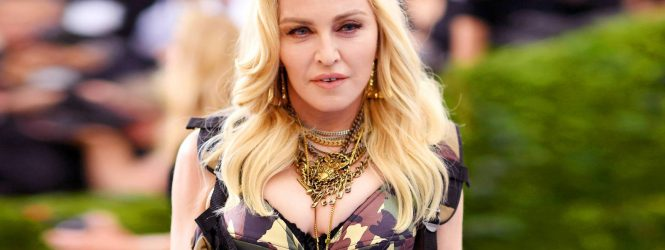 """Madonna compartió una teoría conspirativa sobre el Covid-19 en Instagram y la plataforma la """"censuró"""" por desinformar"""