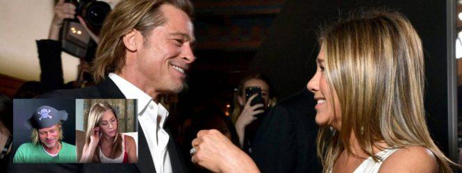 El video con el que Jennifer Aniston y Brad Pitt te demuestran que es posible llevarse bien con un ex amor