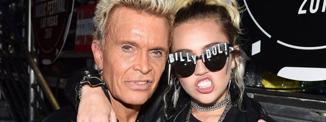 Billy Idol y Dua Lipa se unirán a Miley Cyrus en un tema que hará parte de su próximo álbum