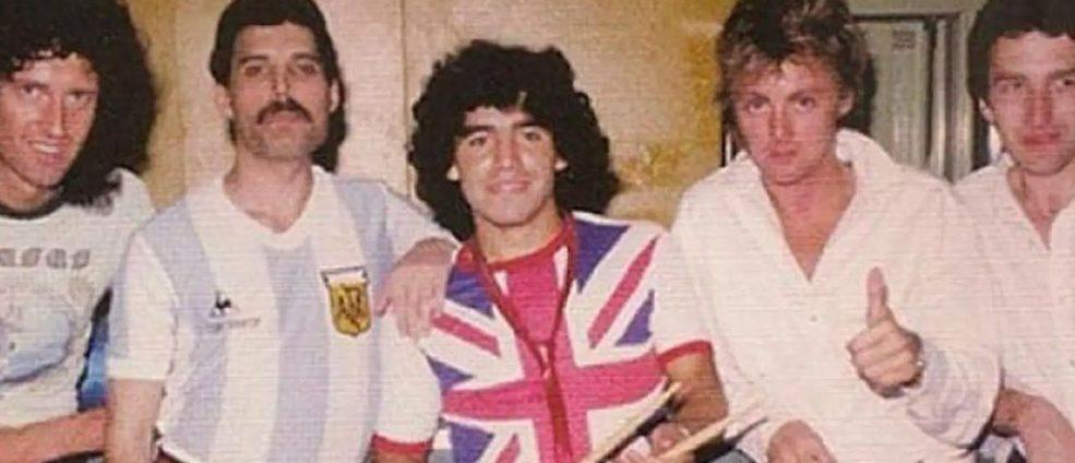 El día que Queen quiso conocer a Maradona