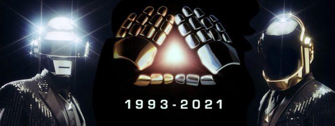 Después de 28 años de carrera, Daft Punk anuncia su separación con un artístico y doloroso video