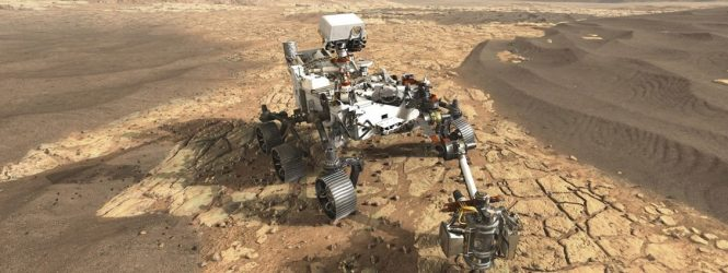 La NASA celebró el amartizaje del Perseverance con 'Life on Mars?' de David Bowie