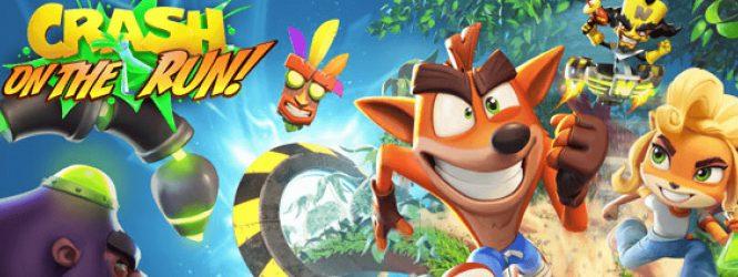 Paren todo que llegó 'Crash Bandicoot: On The Run!' a Android y a iOS y ya lo puedes descargar