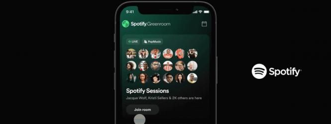Spotify se une a la competencia de Clubhouse y lanza su nueva App llamada Greenroom