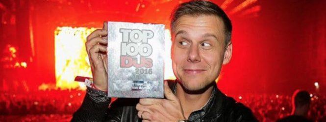 Armin van Buuren: 20 años consecutivos dentro de los 5 mejores DJs del mundo para la DJ Mag